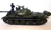 Виньетка с Т-62 от тамии, подарок тестю на 23 февраля.