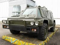 """Бронеавтомобиль ГАЗ-3937 """"Водник"""", 1:72, самоделка"""