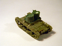 Т-26 двухбашенный, S-Models + UM 1/72