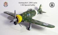 Aermacchi C.200  Special Hobby 1/48 постройка