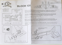 Bloch 131, 1, Mach-2.