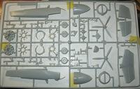 Grumman XF5F-1 Skyrocket (Minicraft model kits)